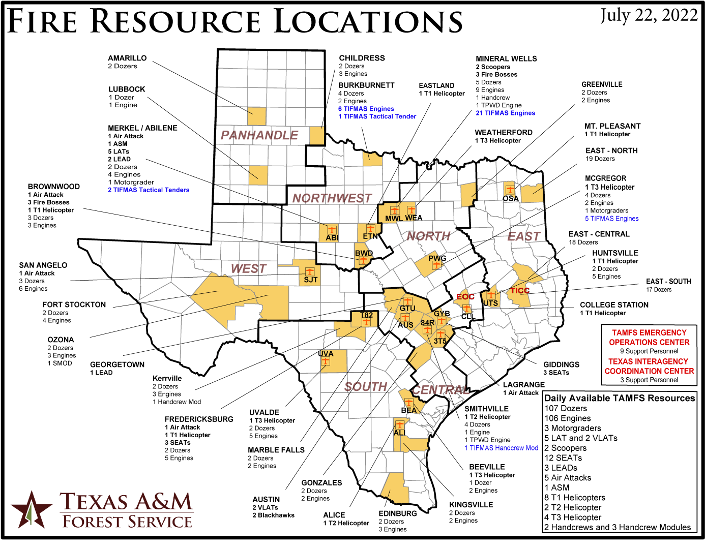 TFS Resource Map